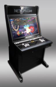des combats endiablé avec lea borne arcade HD