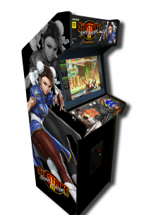 borne d'arcade street fighter
